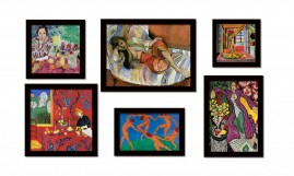 Matisse Grandes Mestres Da Pintura Os Melhores Quadros Kit6