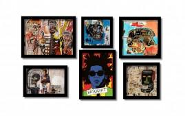 Basquiat, Jean Michel, Quadros Famosos Seleção Melhores Kit6