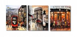 Quadros Decorativos Impressionismo 1,20x50 + Super Brinde