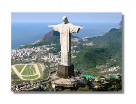 Quadro Morro Do Corcovado Cristo Redentor Rio De Janeiro