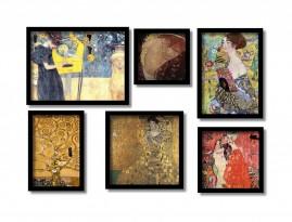 Gustav Klimt 6 Quadros Os Mais Famosos Deste Pintor
